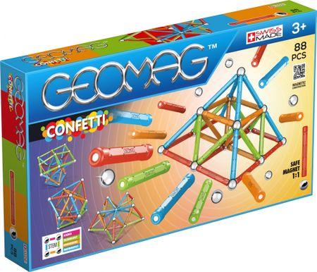 Geomag klocki magnetyczne Confetti 88