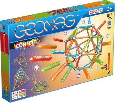 Geomag Confetti 127 építőkészlet