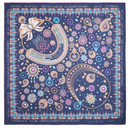 VERSACE 19.69 ženske marame tamno plava Jewels