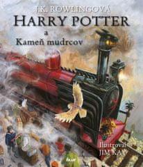 Rowlingová Joanne K.: Harry Potter 1 a Kameň mudrcov - Ilustrovaná edícia