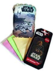 KAJA Darčekový set, súprava do auta, 5 ks, motív Star Wars, špongia Falcon, vôňa Jablko & škorica