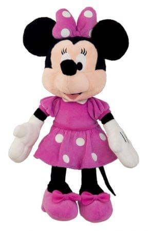 DINO Minnie rózsaszín ruhában plüss 23 cm