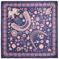 VERSACE 19.69 dámský fialový šátek Jewels