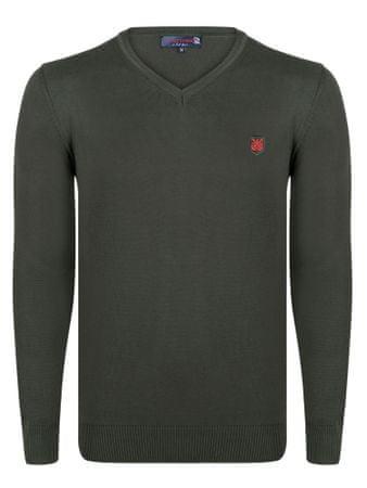 Giorgio Di Mare moški pulover, M, kaki