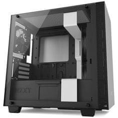NZXT ohišje H400, MicroATX, mat belo (CA-H400B-W1) - Odprta embalaža