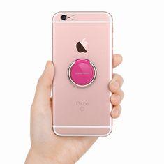 Goospery Ring 360 držalo za mobilne telefone, temno roza