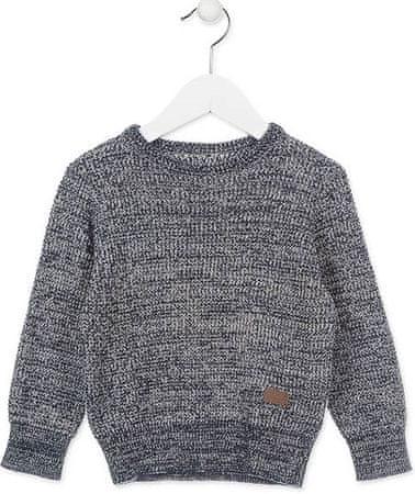 Losan chlapecký svetr 98 stříbrná/šedá