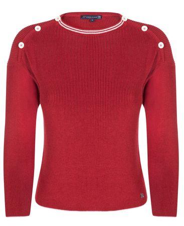 Giorgio Di Mare ženski pulover, S, rdeč