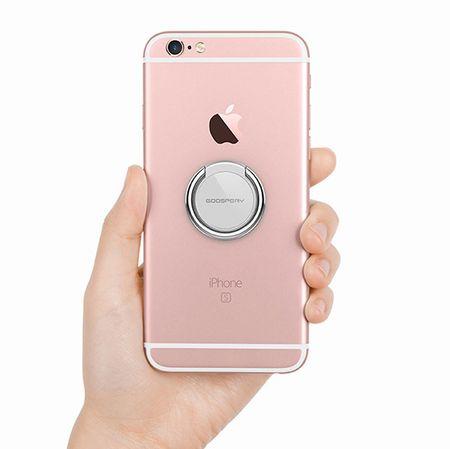 Goospery Ring 360 držalo za mobilne telefone, srebrno