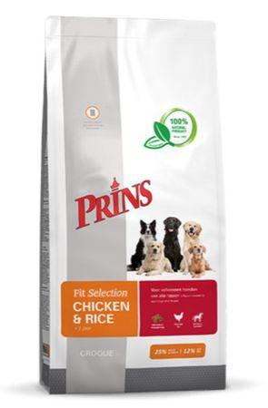 Prins hrana za pse Fit Selection Dog Chicken & Rice, 2 kg