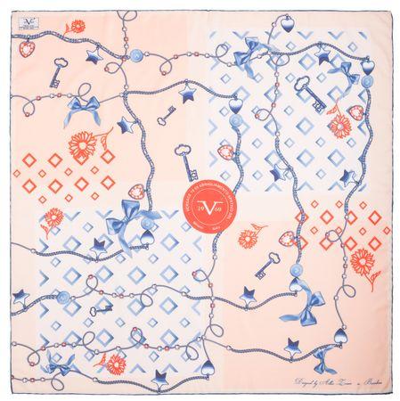 VERSACE 19.69 dámský oranžový šátek Master Key