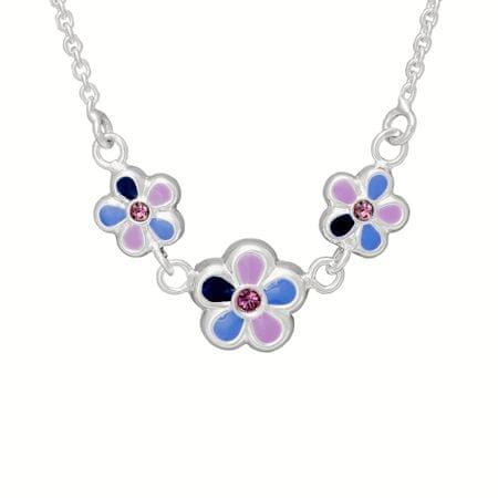 Moshna Dětský stříbrný náhrdelník N8001