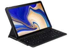 SAMSUNG Galaxy Tab S4 - Ochranný kryt s klávesnicou EJ-FT830UBEGWW, čierny