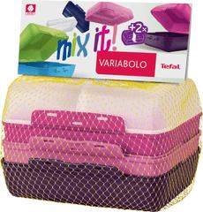 Tefal VARIOBOLO CLIPBOX 2x farebná dóza dievčenská K3169014