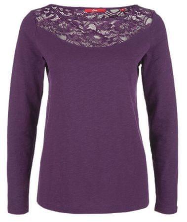 s.Oliver női póló 34 lila