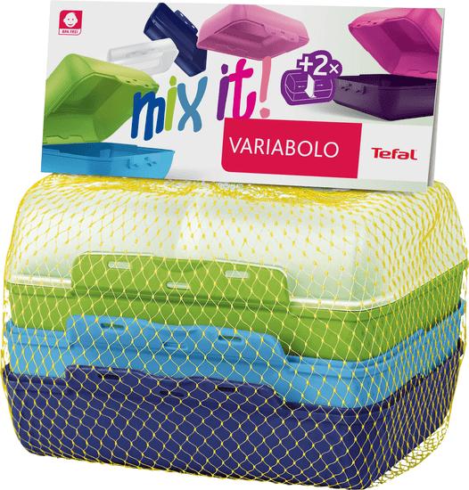 Tefal VARIOBOLO CLIPBOX 2x barevná dóza - chlapecká K3168914