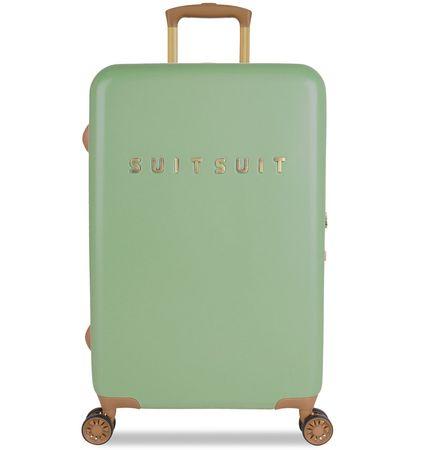 SuitSuit Utazó bőrönd TR-7103/3-M - Fab Seventies Basil Green