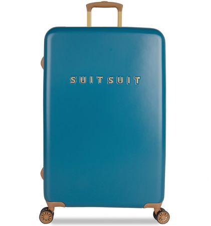 SuitSuit Utazó bőrönd TR-7102/3-L - Fab Seventies Seaport Blue