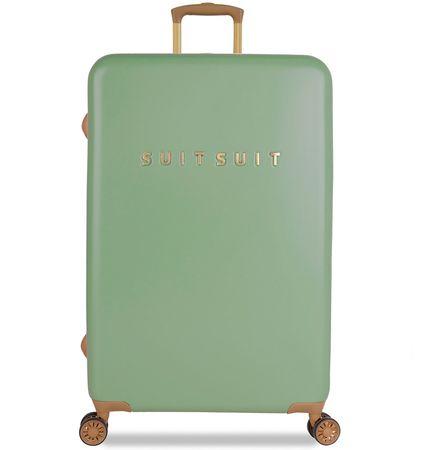 SuitSuit Utazó bőrönd TR-7103/3-L - Fab Seventies Basil Green