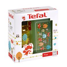 Tefal KIDS sada dóza plast+fľaša tritan 0,4 L žltá-líška K3169414