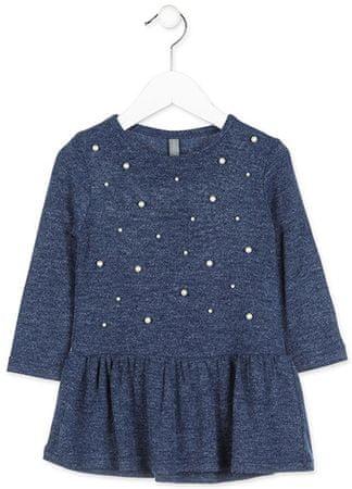 Losan dívčí šaty 122 modrá