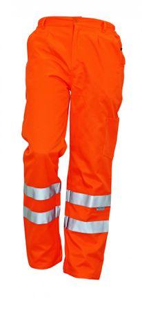 Červa Reflexné pracovné nohavice Koros pánske oranžová 52