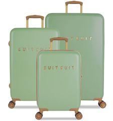 SuitSuit zestaw walizek podróżnych TR-7103/3 - Fab Seventies Basil Green