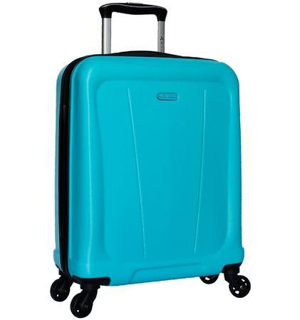 Sirocco potovalni kovček T-1213 / 1-S ABS, moder