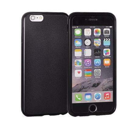 Silikonski ovitek za iPhone 6, mat črn