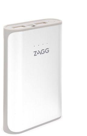 ZAGG zunanja baterija powerbank 6000 mAh, bela