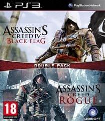 Ubisoft igra Compilation AC4: Black Flag & AC: Rogue (PS3)