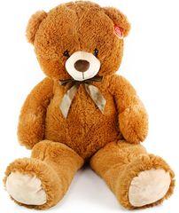 Rappa Velký plyšový medvěd Oskar 90 cm hnědý