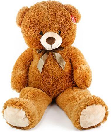Rappa Duży pluszowy niedźwiedź Oskar 90 cm brązowy