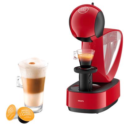 Unikalne KRUPS ekspres do kawy na kapsułki KP170531 Infinissima, czerwony QS86