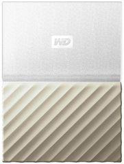 WD My Passport Ultra Metal 2TB, biela/zlatá (WDBTLG0020BGD-WESN)