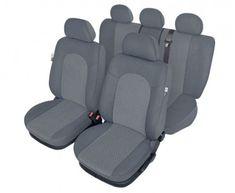 KEGEL Poťahy na sedadlo Atlantic, veľkosť L Super Air Bag, farba sivá