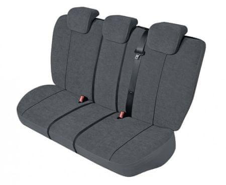KEGEL Poťahy na zadné sedadlá Elegance Super L-XL Bag LUX, farba sivá