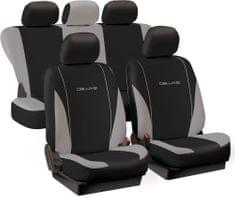 Tech prevleke za sedeže Deluxe Spring, sivo-črne