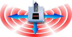 MAMMOOTH Ultrazvukový plašič hlodavcov pre montáž na parkovisku, v dome, na streche, 230 V; počet zariadení: 1 ks, počet reproduktorov: 3 ks