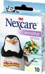 Nexcare obliži Sensitive, Pingvini z Madagaskarja, 10 kosov