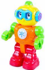 Rappa Kolorowy robot ze światłem i dźwiękiem