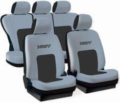 Tech prevleke za sedeže X-CIty, sive