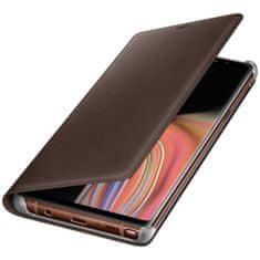 Samsung kožna preklopna maska za Samsung Galaxy Note 9, smeđa