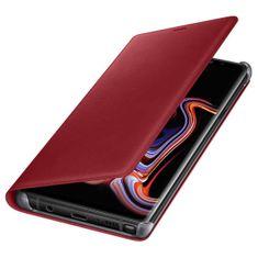 Samsung kožna preklopna maska za Samsung Galaxy Note 9, crvena