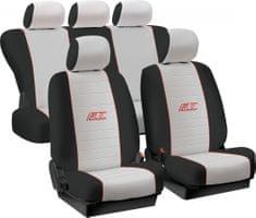 Harmony presvlake za sjedala Uni GT-Turbo, sivo-crne