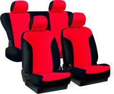 Tech prevleke za sedeže Urban, rdeče-črne