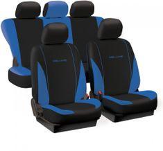 Tech prevleke za sedeže Deluxe Spring, modro-črne