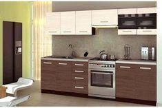 Kuchyně MADDOX 2, 200/260 cm, ořech viva/priede arden