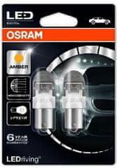 Osram Žiarovka typ PY21W, 12V, 2W, LED, LEDriving oranžová