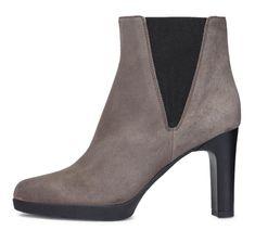 Geox Dámská kotníčková obuv Annya High, šedá, vel. 36 - rozbaleno
